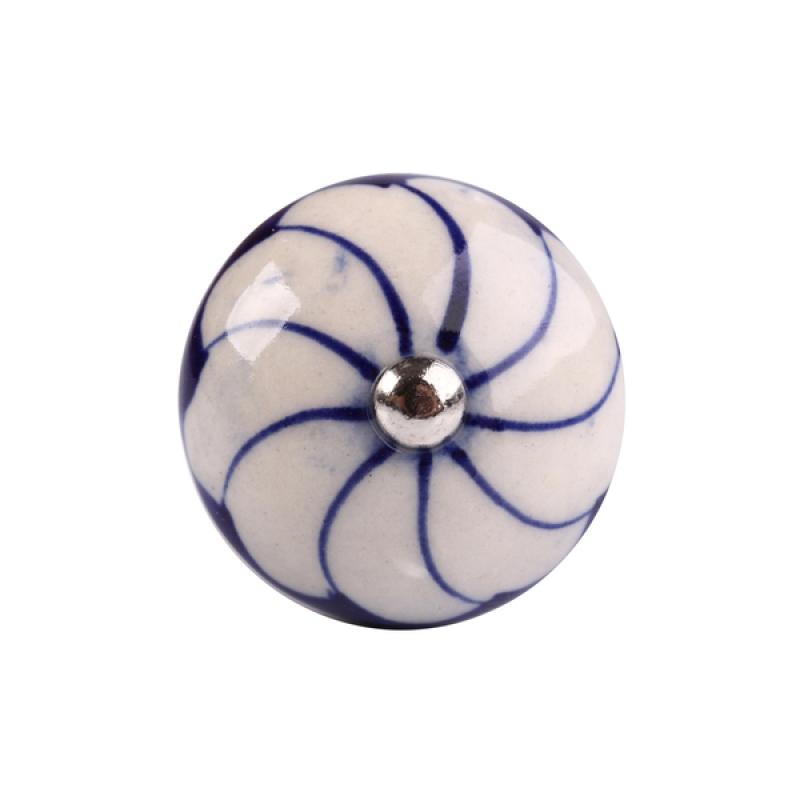 Puxador Porcelana 3076